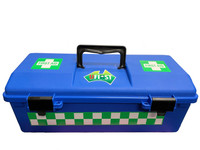 UFirst Aid: Complete Electrical Workers Kit in Blue Plastic Portable Case