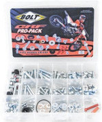 BOLT Motorcycle Hardware Pro-Pack for CR/CRF #B2008-CRFPP