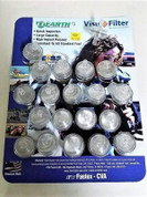 """Inline Fuel Filter Round 1.3""""D x 1/4"""" Individual or Package of 20 #KL-19-1255 I/PK"""