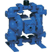 Sandpiper Air-Operated Double Diaphragm Pump - 1/2in. Inlet, 15 GPM, Aluminum/Buna, Model# S05B1ABWANS000