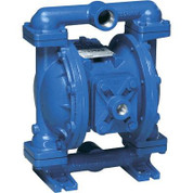 Sandpiper Air-Operated Double Diaphragm Pump - 1in. Inlet, 45 GPM, Aluminum/Buna, Model# S1FB1XBWANS000