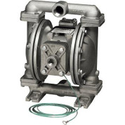 Sandpiper Air-Operated Double Diaphragm Pump - 1in. Inlet, 45 GPM, Aluminum/PTFE, Model# U1FB1XGTXNS600
