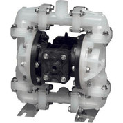 Sandpiper Air-Operated Double Diaphragm Pump - 1/4in. Inlet, 15 GPM, Polypropylene/Buna, Model# S05B2PBTPNS000