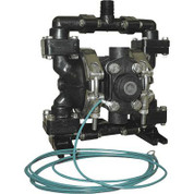 Sandpiper Air-Operated Double Diaphragm Pump - 1/4in. Inlet, 4 GPM, Acetal/PTFE, Model# PB1/4, TT3CA
