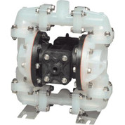 Sandpiper Air-Operated Double Diaphragm Pump - 15 GPM, Santoprene Fittings, Model# S05