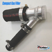GenRight Billet Aluminum Compact Gas Cap & Filler