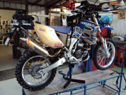 Yamaha WR250/450F Safari Rear 10L Rally Tank
