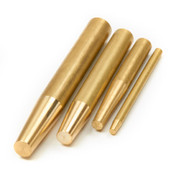 Set of 4 Brass Punches by HMC