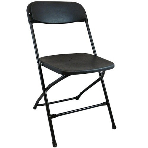Brilliant Black Plastic Folding Chairs Ppfc Black Squirreltailoven Fun Painted Chair Ideas Images Squirreltailovenorg