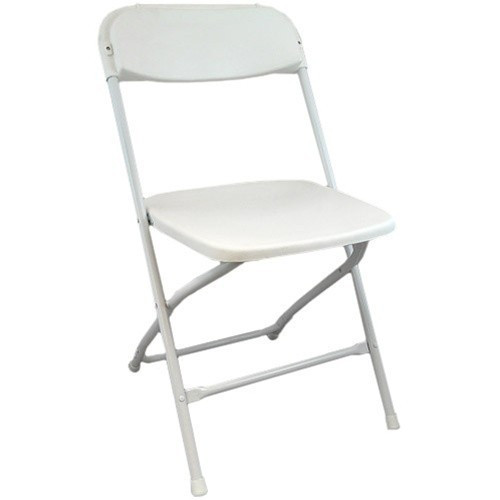Excellent White Plastic Folding Chairs Ppfc White Andrewgaddart Wooden Chair Designs For Living Room Andrewgaddartcom