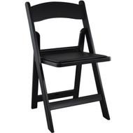 Wedding Chairs | Black Resin Folding Chairs