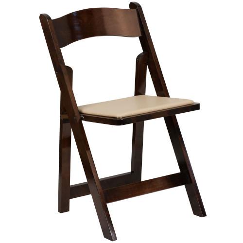 Wood Folding Chairs   Fruitwood Wedding Chairs