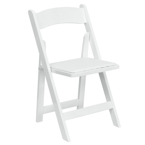 Wood Folding Chairs | White Wedding Chairs