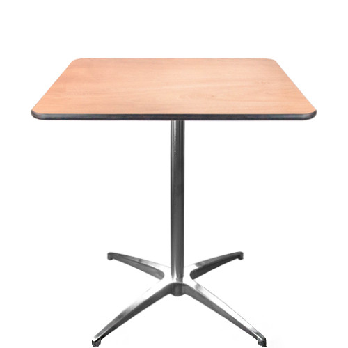 Cocktail Table | 30 Inch Square Cafe Tables | Pub Tables