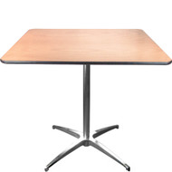 Cocktail Table | 36 Inch Square Cafe Tables | Pub Tables