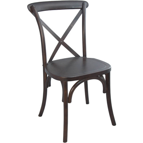X-Back Chair   Walnut   Cross Back Chairs