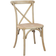 X-Back Chair | Natural With White Grain | Cross Back Chairs