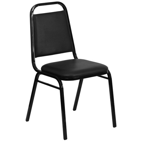 Stackable Chairs | Black Vinyl | Banquet Chairs