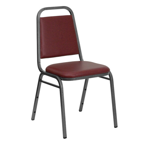 Stackable Chairs   Burgundy Vinyl   Banquet Chairs