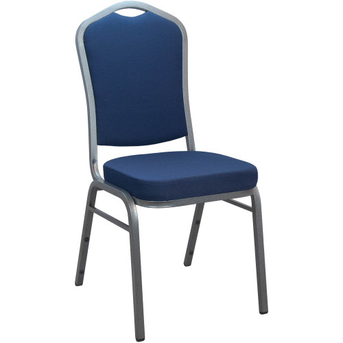 Banquet Chairs | Navy Crown Back | Stackable Chairs