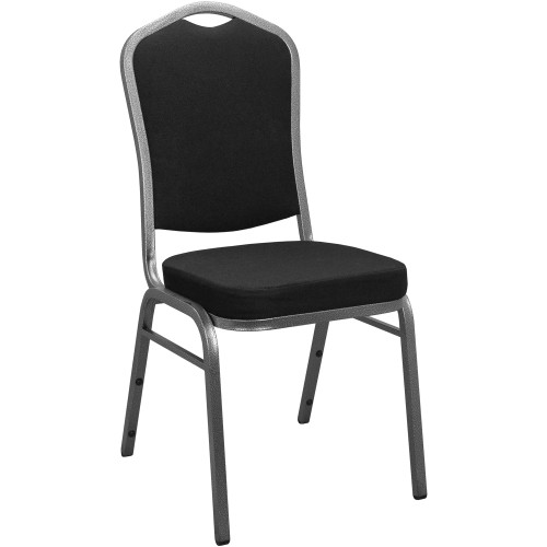 Banquet Chairs | Black Crown Back | Stackable Chairs