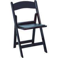 Wedding Chairs | Mahogany Resin Folding Chairs