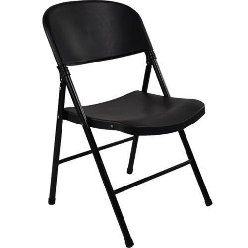 Etonnant Plastic Folding Chairs | Oversized | Black Plastic Folding Chair