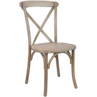 X-Back Chair | Driftwood | Cross Back Chairs