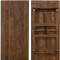 Farmhouse Table | 40x108 Barn Wood Brown | Wooden Folding Table