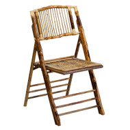 Bamboo Wooden Folding Chairs [X-62111-BAM-GG]