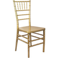 Gold Monoblock Resin Chiavari Chair | Chiavari Chairs For Sale