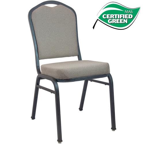 Banquet Chairs   Premium Tan Speckle Crown Back
