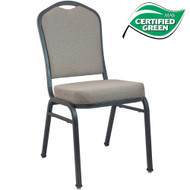 Banquet Chairs | Premium Tan Speckle Crown Back