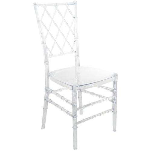 Clear Diamond Resin Chiavari Chair | Chiavari Chairs For Sale