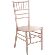 Rose Gold Wood Chiavari Chair | Chiavari Chairs For Sale