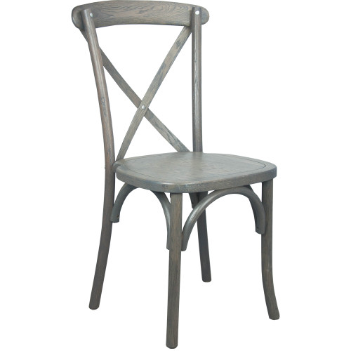 X-Back Chair | Grey | Cross Back Chairs