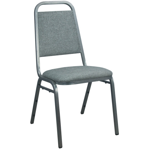 Stackable Chairs | Charcoal Gray Fabric | Banquet Chairs