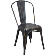 Brushed Copper Tolix Chair [TC-Brushed-Copper]