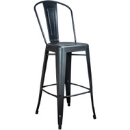 Black Tolix Bar Stool [TC-BAR-Black]