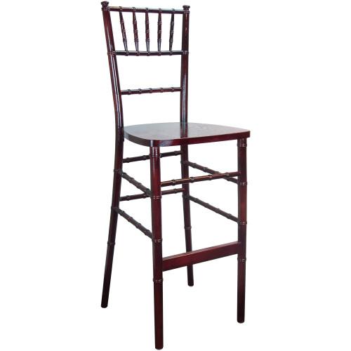 Chiavari Bar Stool Mahogany Wood Chiavari Chairs