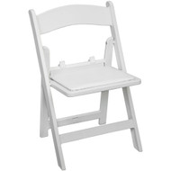 Kids White Resin Folding Chair [RFWCA-KID-100]