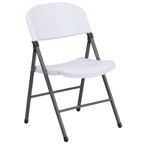 Plastic Folding Chairs | Oversized | White Plastic Folding Chair
