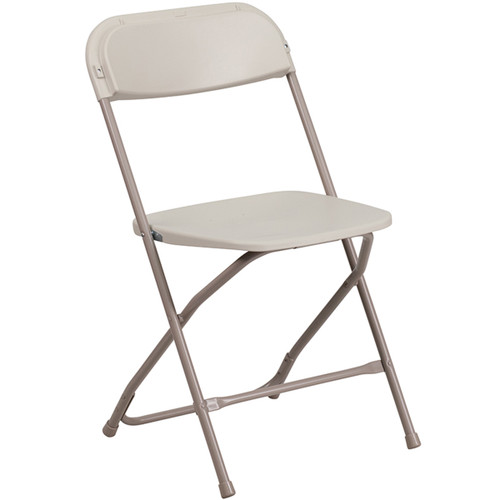 Plastic Folding Chairs | Beige Foldable Chairs
