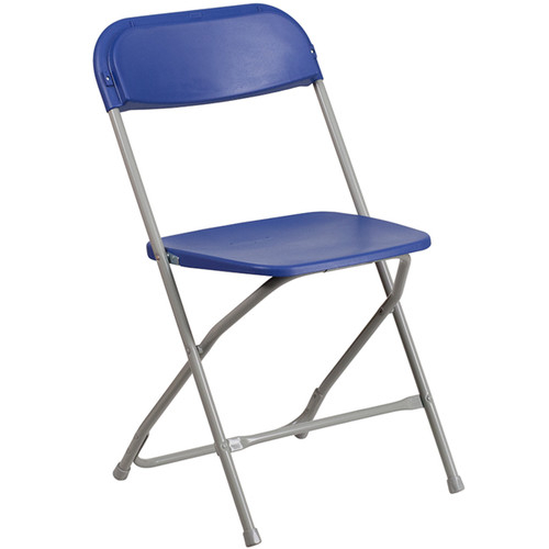 Plastic Folding Chairs | Blue Foldable Chairs