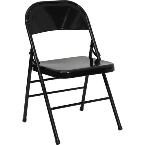 Metal Folding Chair   Black Folding Chairs