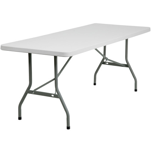 "30"" x 72"" Plastic Folding Banquet Table 