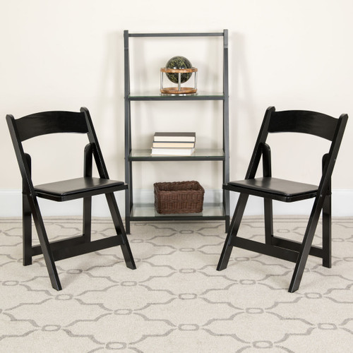 Wood Folding Chairs   Black Wedding Chairs