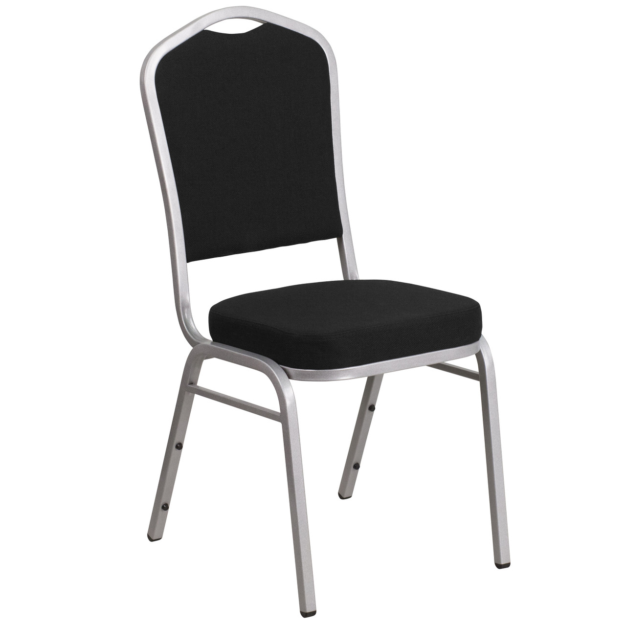 Banquet Chairs Black Fabric Stackable Chairs
