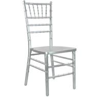 Silver Wood Chiavari Chair | Chiavari Chairs For Sale