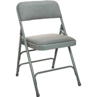 Metal Folding Chairs | Gray Padded Folding Chairs